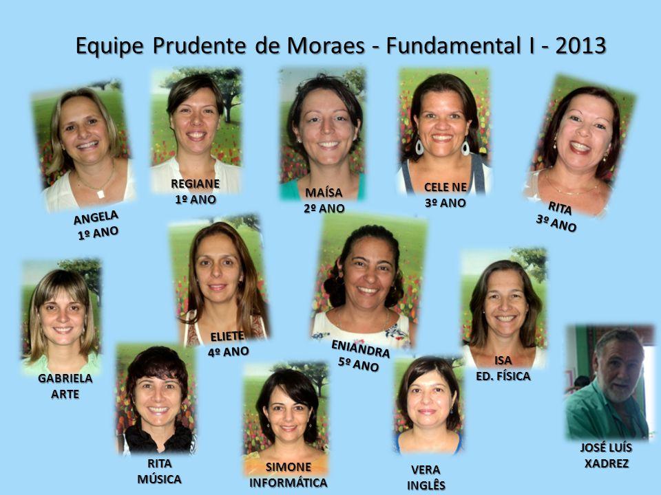 Equipe Prudente de Moraes - Fundamental I - 2013
