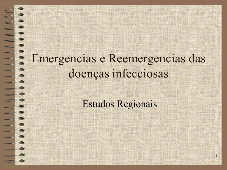Emergencias e Reemergencias das doenças infecciosas