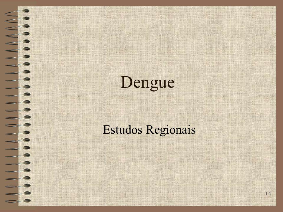 Dengue Estudos Regionais