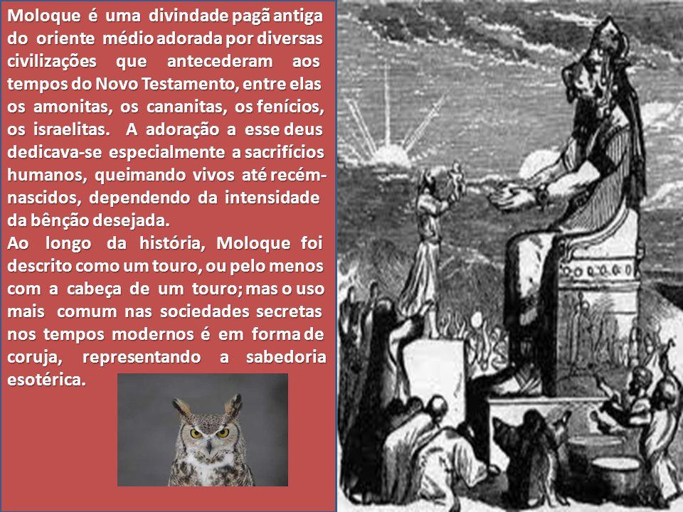 Moloque é uma divindade pagã antiga