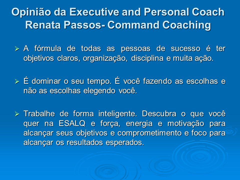 Opinião da Executive and Personal Coach Renata Passos- Command Coaching