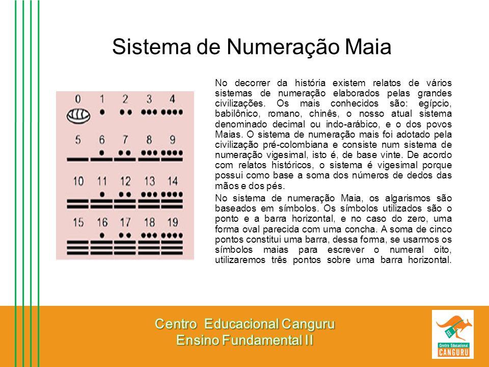 Sistema de Numeração Maia