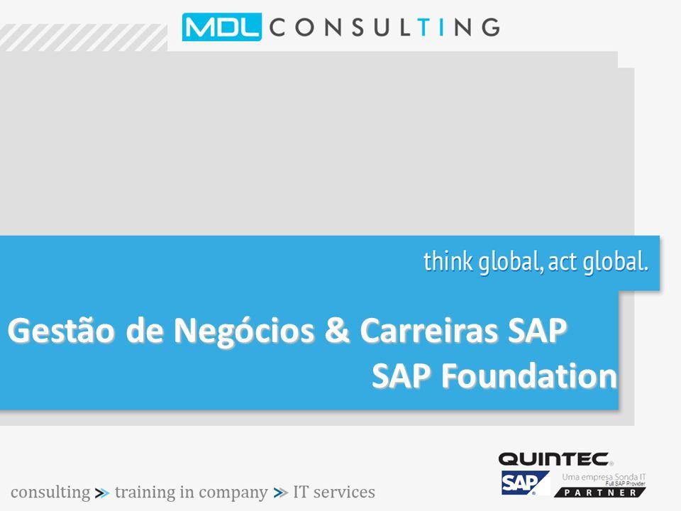 Gestão de Negócios & Carreiras SAP