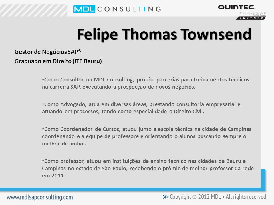 Felipe Thomas Townsend