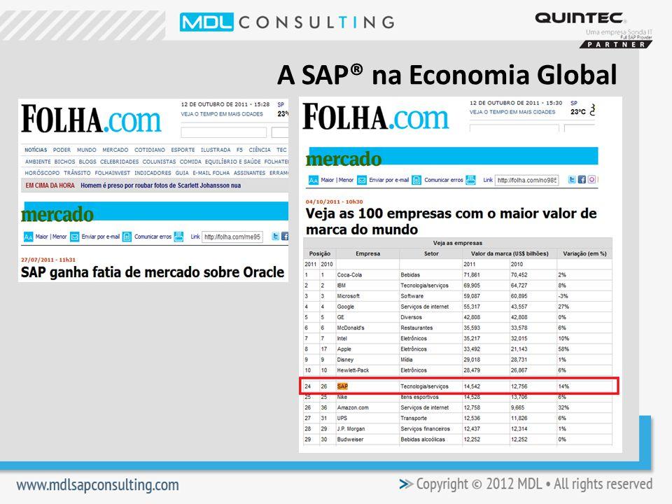 A SAP® na Economia Global