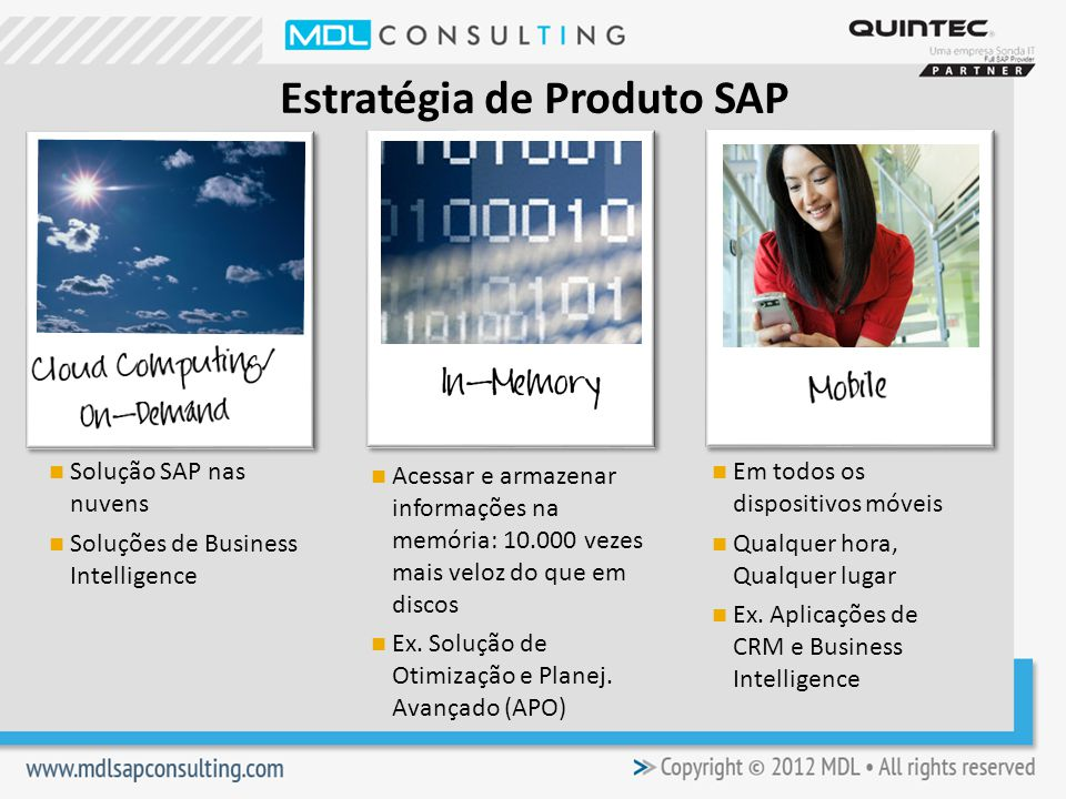 Estratégia de Produto SAP