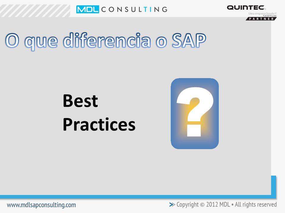 O que diferencia o SAP Best Practices