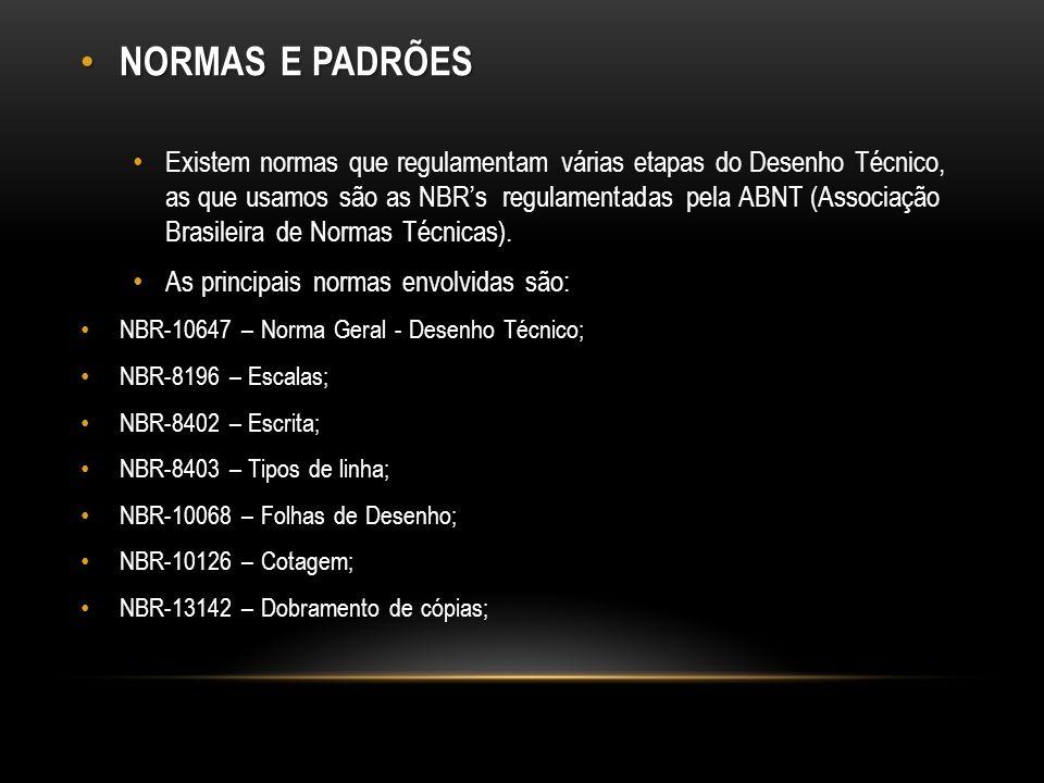 NORMAS E PADRÕES