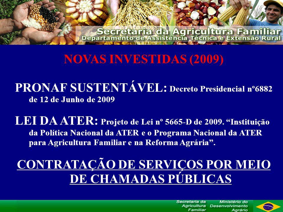 CONTRATAÇÃO DE SERVIÇOS POR MEIO DE CHAMADAS PÚBLICAS