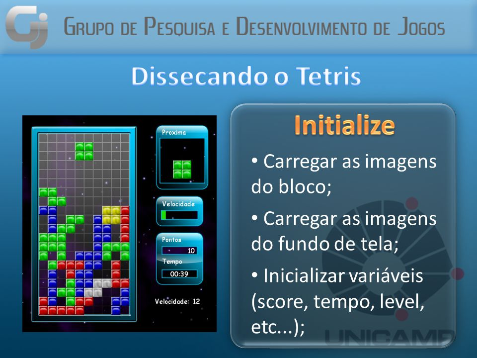 Dissecando o Tetris Initialize
