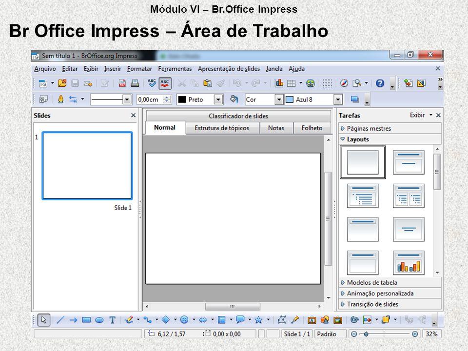 Br Office Impress – Área de Trabalho