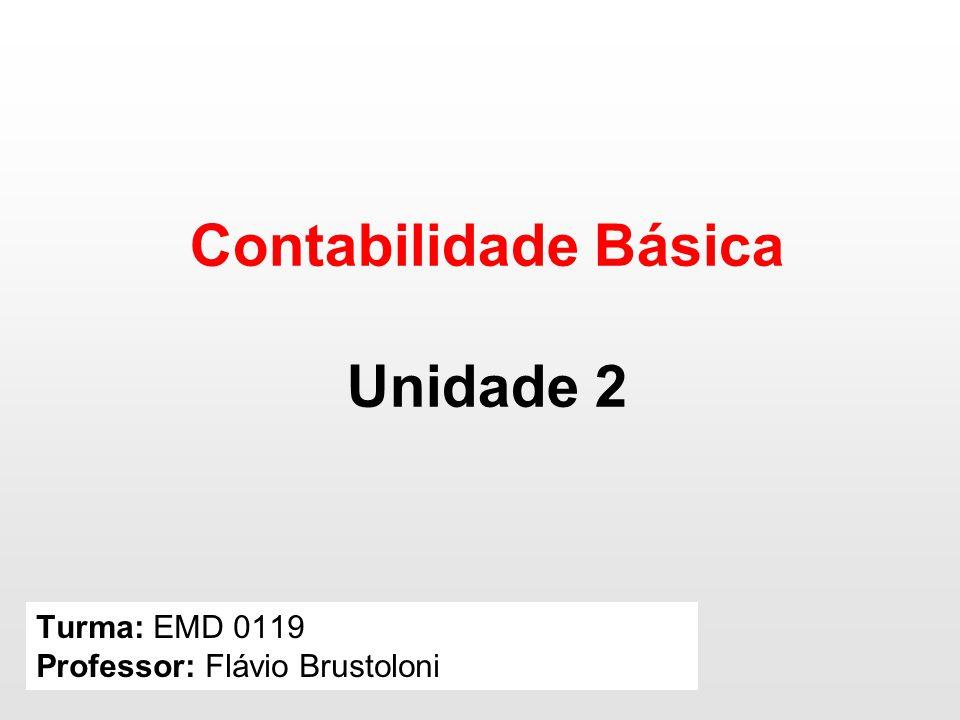 Turma: EMD 0119 Professor: Flávio Brustoloni