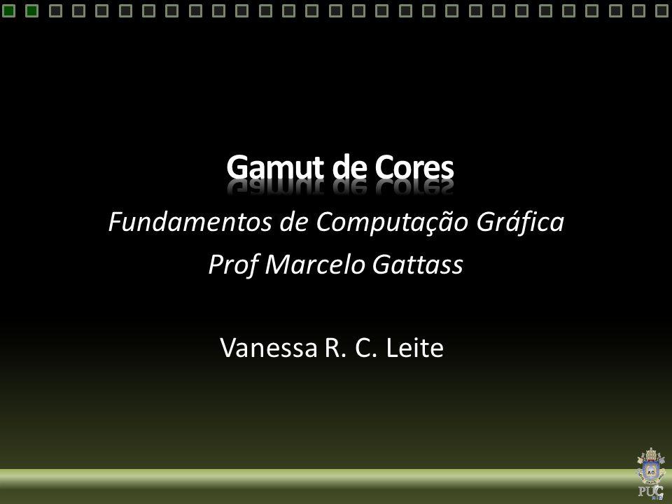 Fundamentos de Computação Gráfica Prof Marcelo Gattass