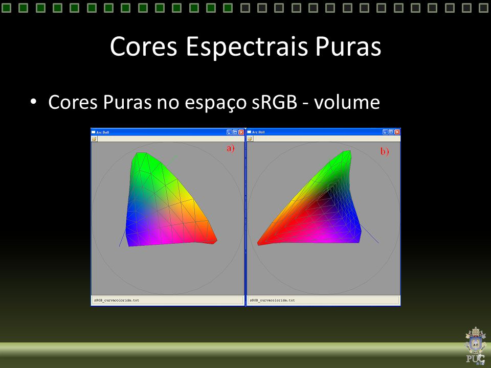 Cores Espectrais Puras