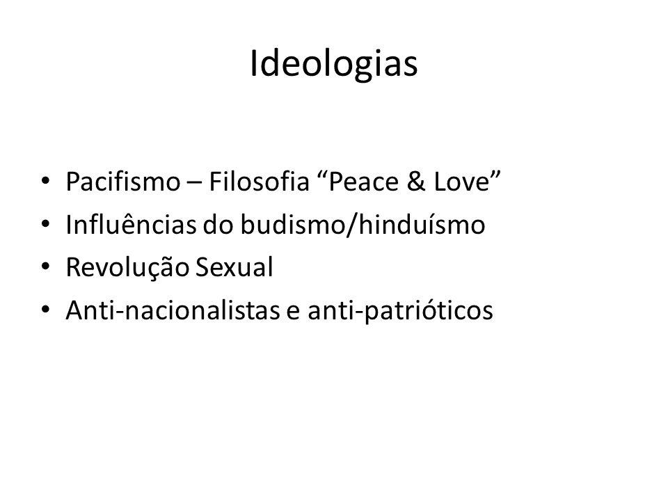 Ideologias Pacifismo – Filosofia Peace & Love