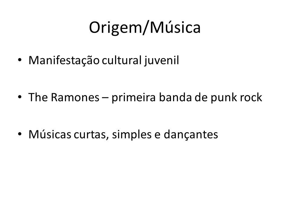 Origem/Música Manifestação cultural juvenil