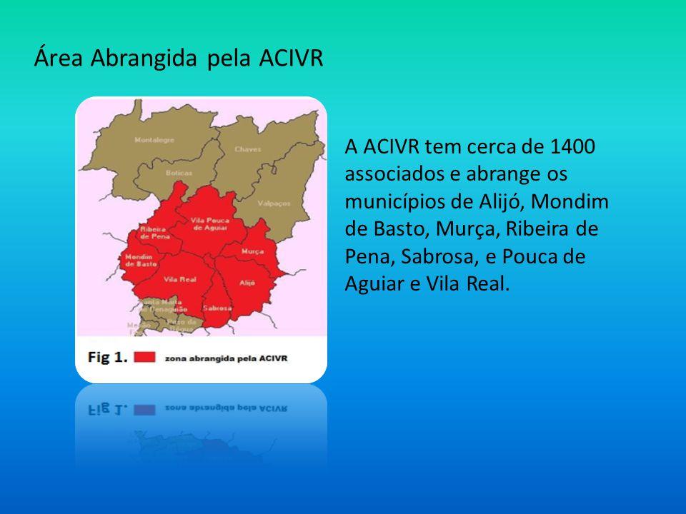 Área Abrangida pela ACIVR