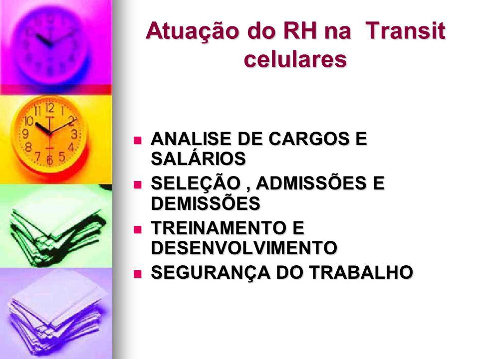 Atuação do RH na Transit celulares