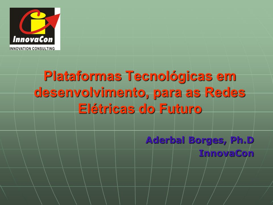 Aderbal Borges, Ph.D InnovaCon