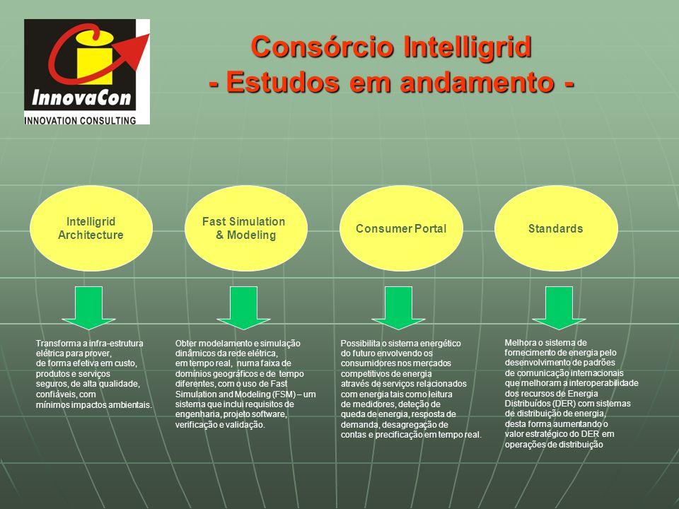 Consórcio Intelligrid - Estudos em andamento -