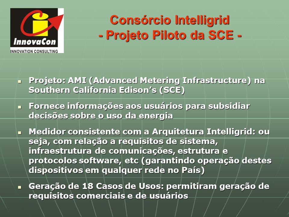 Consórcio Intelligrid - Projeto Piloto da SCE -