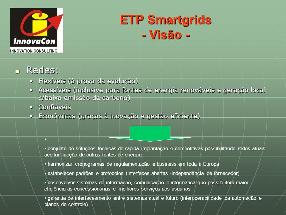ETP Smartgrids - Visão -