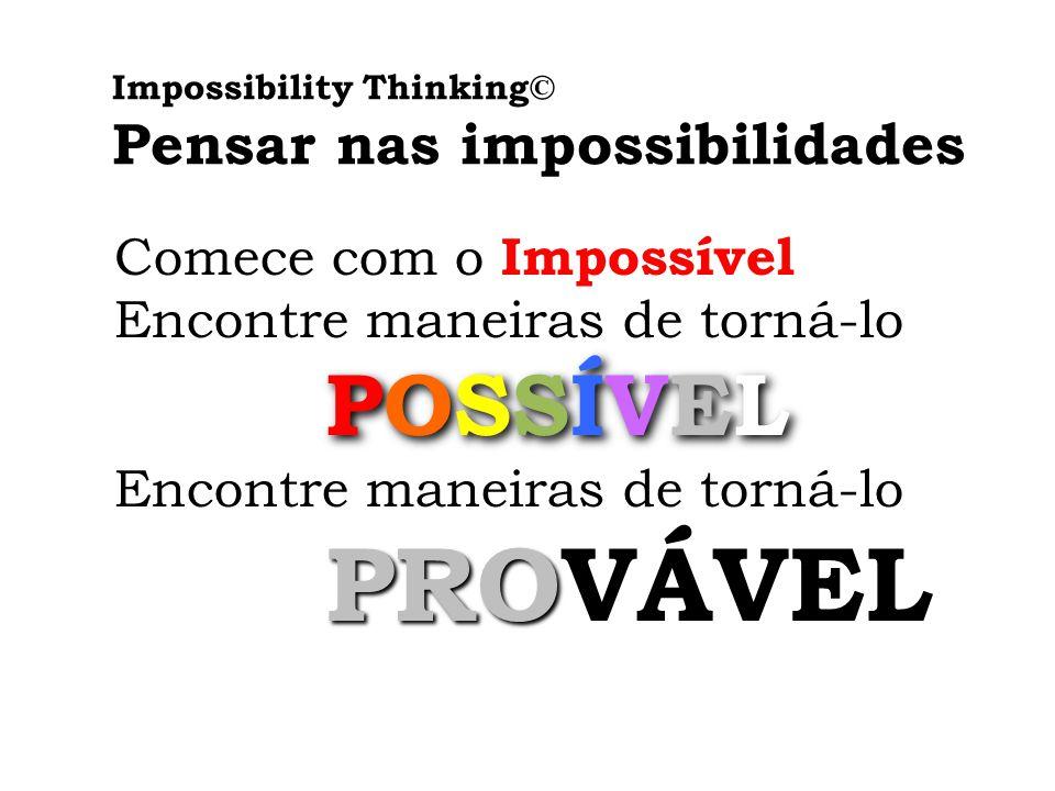 Pensar nas impossibilidades