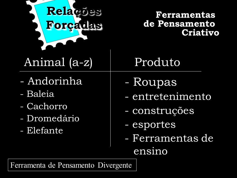Relações Forçadas Animal (a-z) Produto - Roupas - Andorinha