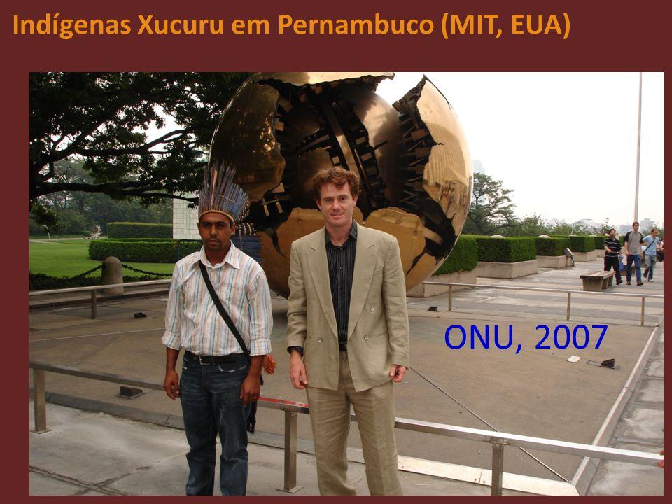 Indígenas Xucuru em Pernambuco (MIT, EUA)