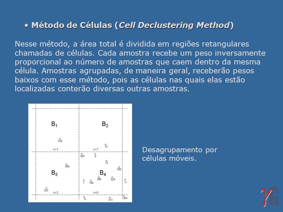 Método de Células (Cell Declustering Method)
