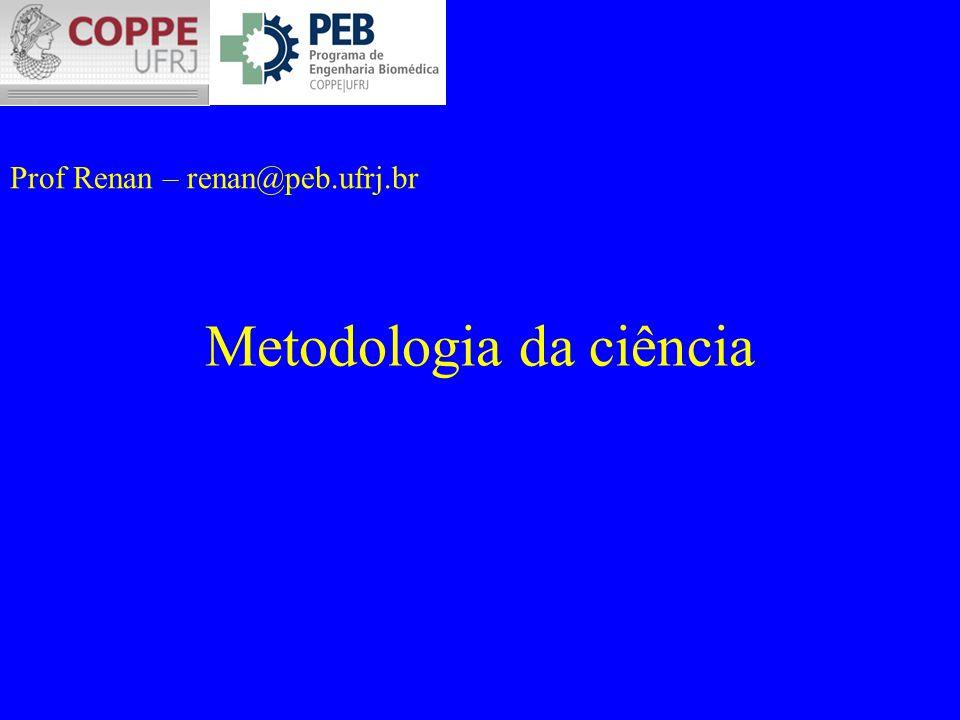 Metodologia da ciência