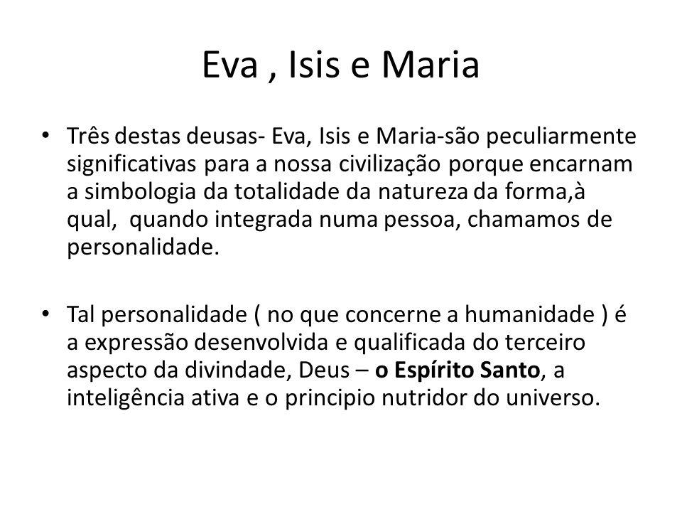 Eva , Isis e Maria