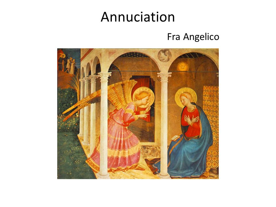 Annuciation Fra Angelico