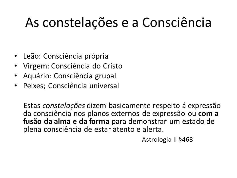 As constelações e a Consciência
