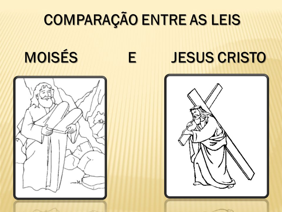 COMPARAÇÃO ENTRE AS LEIS