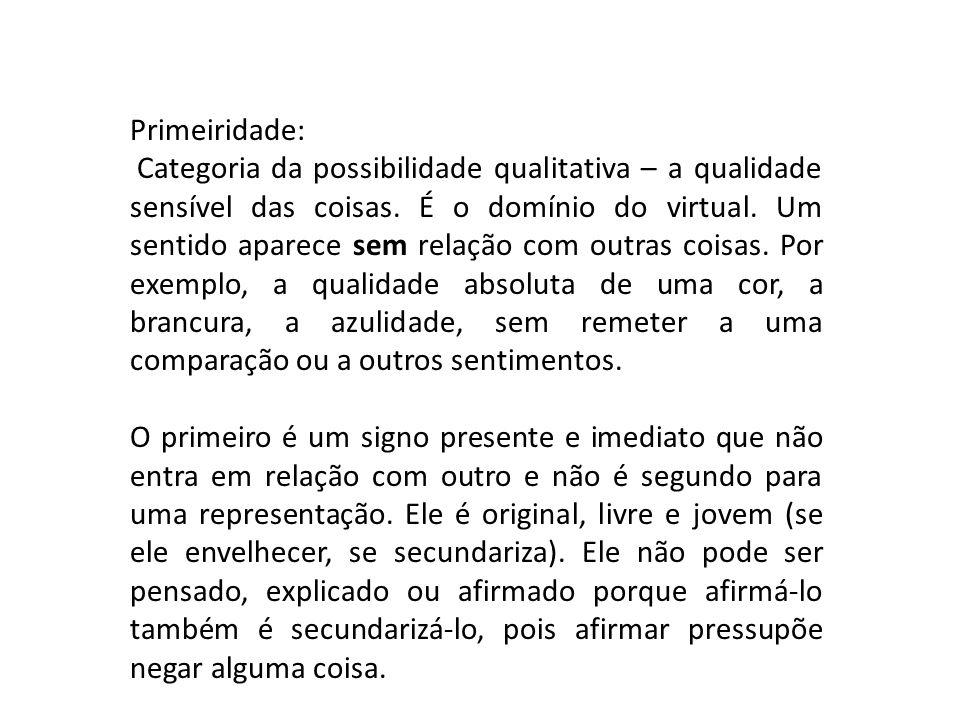 Primeiridade: