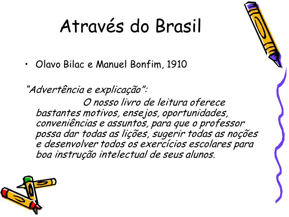 Através do Brasil Olavo Bilac e Manuel Bonfim, 1910
