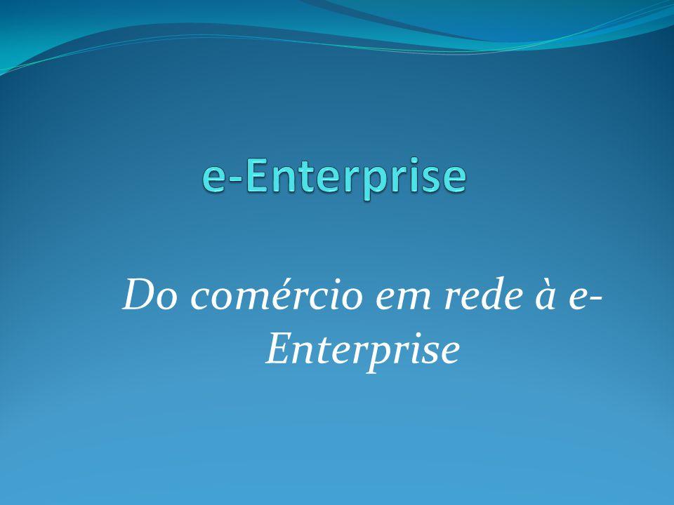 Do comércio em rede à e-Enterprise