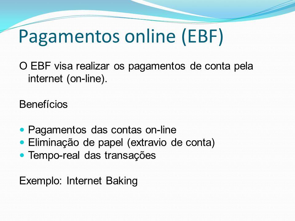 Pagamentos online (EBF)