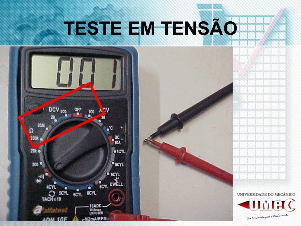 TESTE EM TENSÃO
