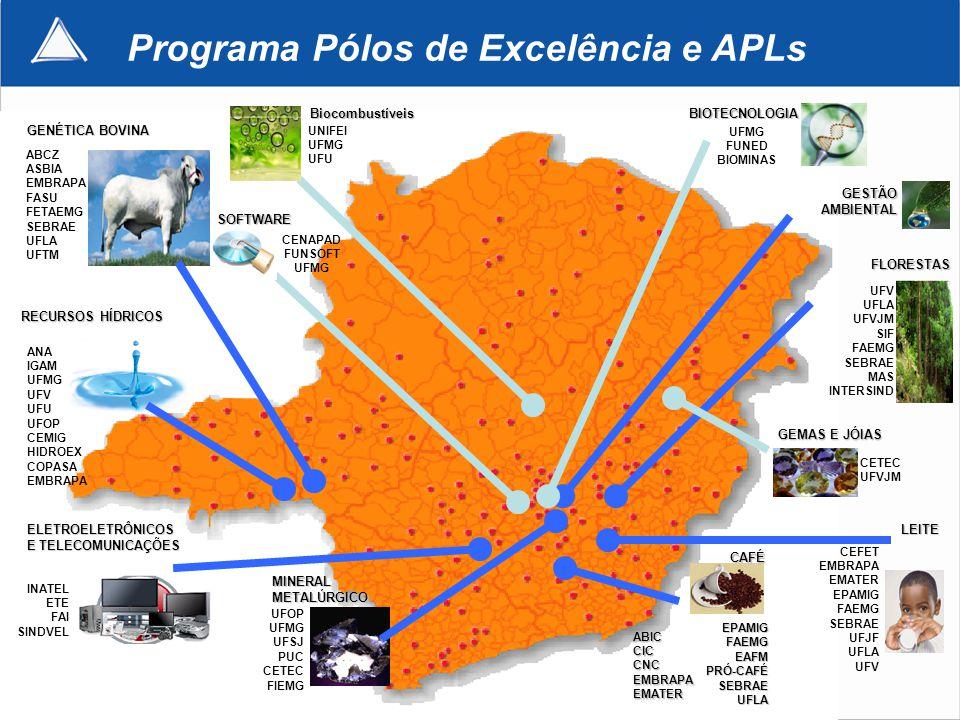 Programa Pólos de Excelência e APLs