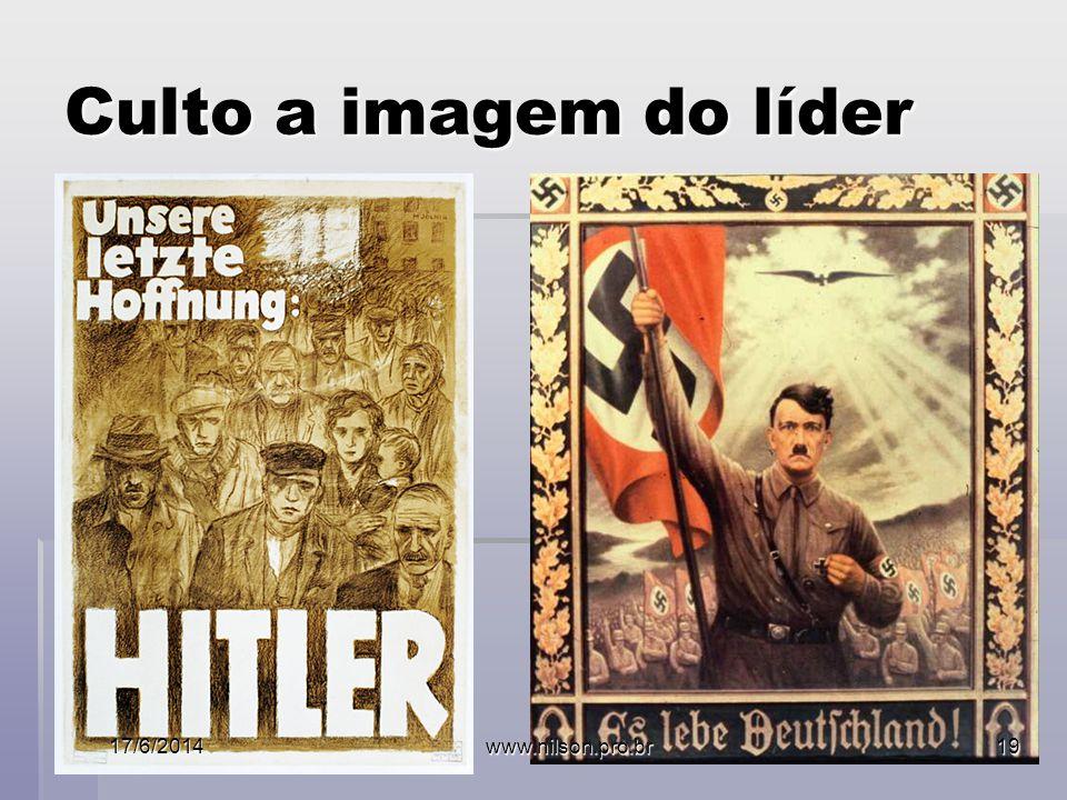 Culto a imagem do líder 02/04/2017 www.nilson.pro.br