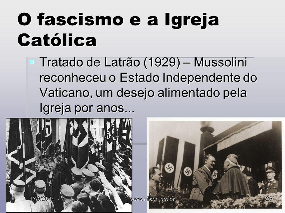 O fascismo e a Igreja Católica