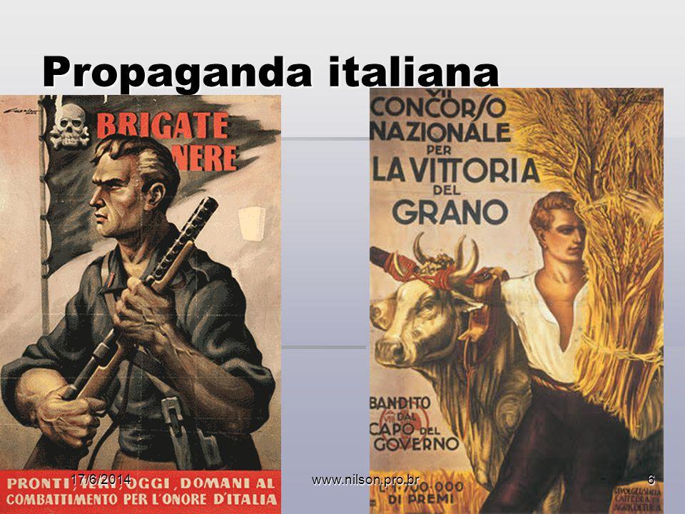 Propaganda italiana 02/04/2017 www.nilson.pro.br