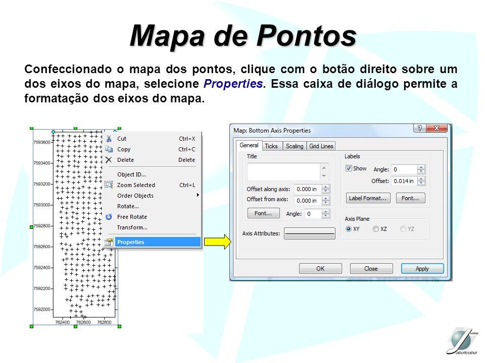 Mapa de Pontos