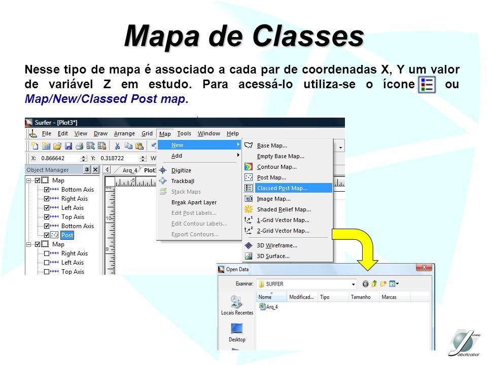 Mapa de Classes