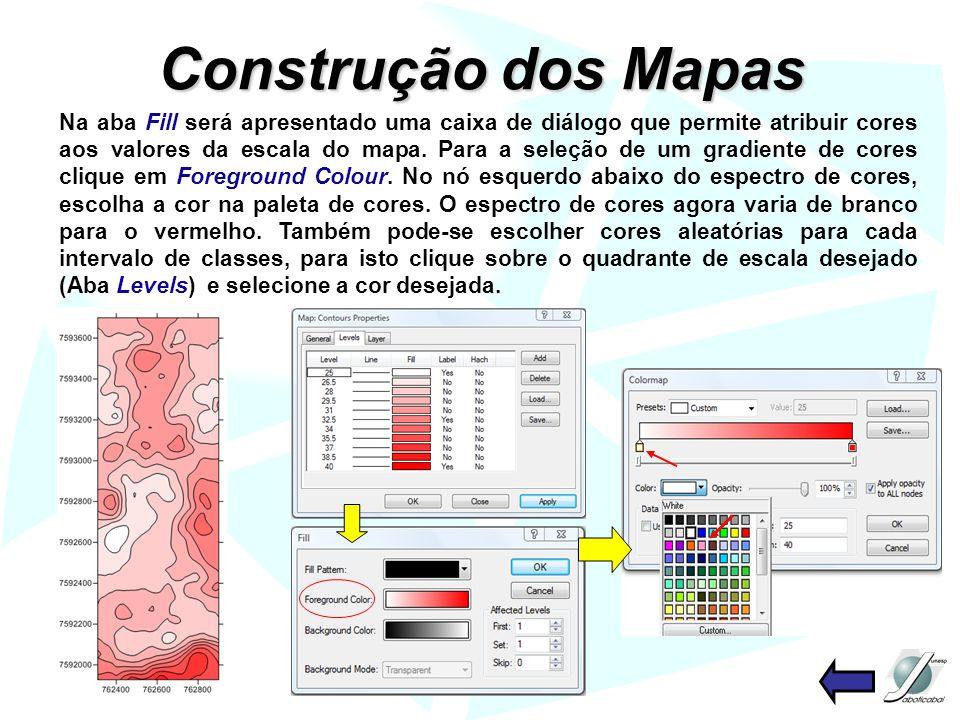 Construção dos Mapas