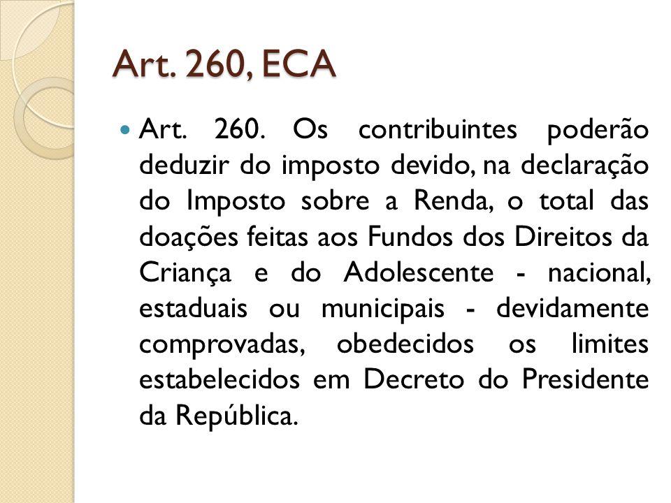 Art. 260, ECA