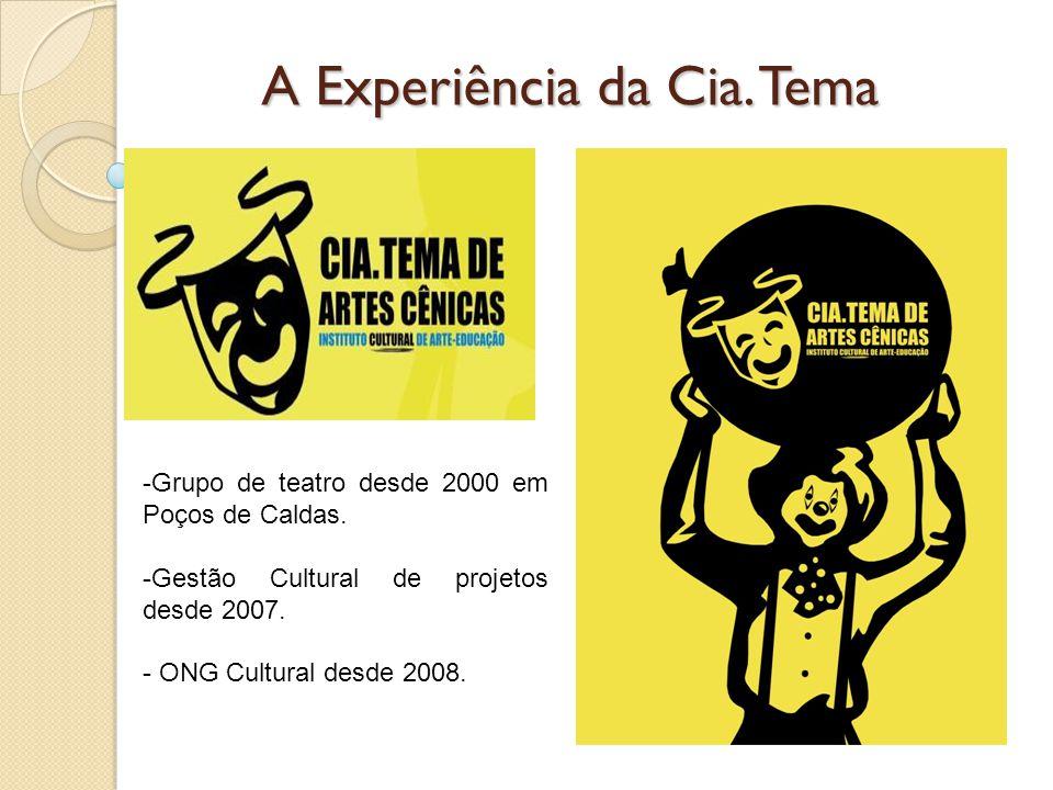 A Experiência da Cia. Tema