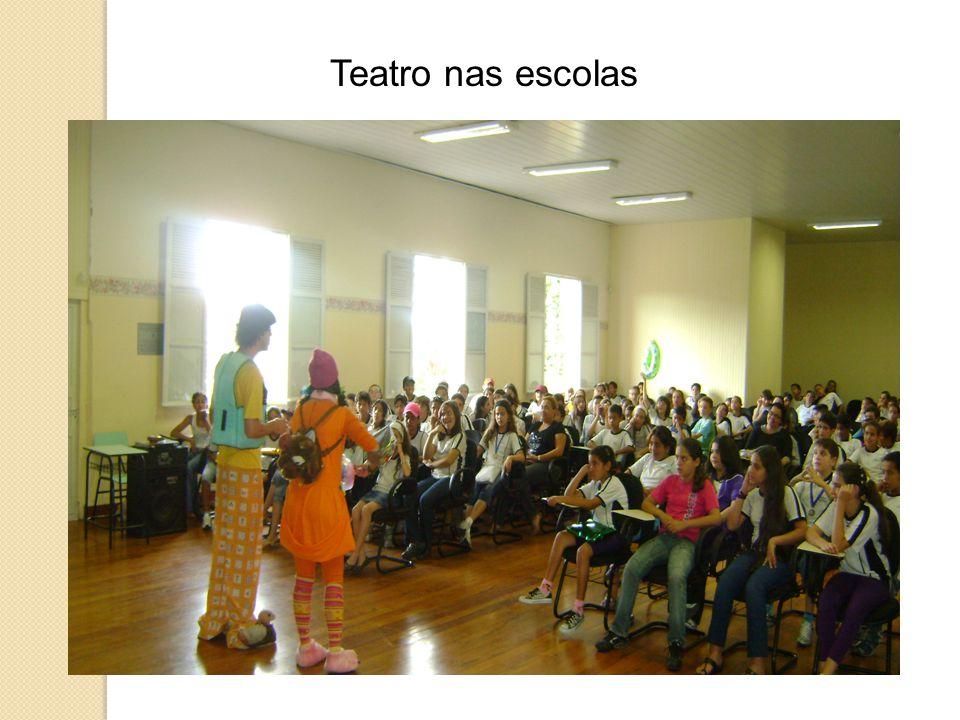 Teatro nas escolas